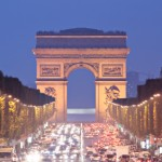 Paris Champs Elysees Arc de Triomphe