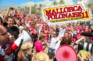 Mallorca, Strand, opening, Party